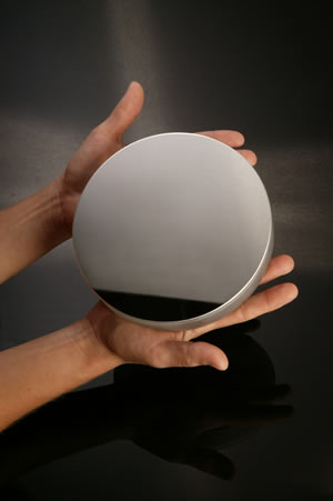 λ/20, 1 inch DIAMETER, AlSiO COATED MIRRORS
